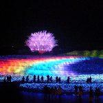 なばなの里 ウィンターイルミネーション 2011-2012 「日本の四季」