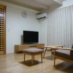カリモク家具のリビング環境が整った
