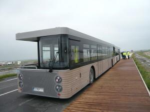 モンサンミッシェルへのバス1