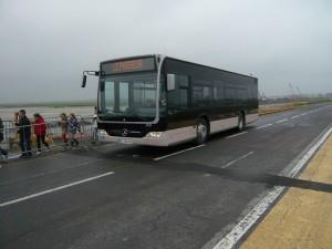 モンサンミッシェルへのバス2