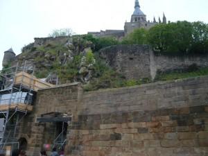 モンサンミッシェル第1の城門