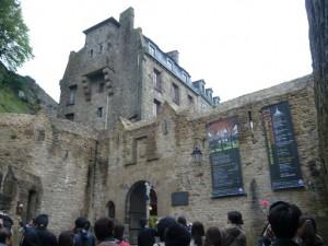 モンサンミッシェル第2の城門