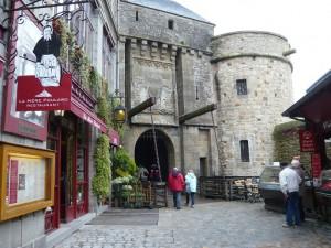 モンサンミッシェル第3の城門(王の門)