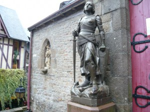 ジャンヌ・ダルク像