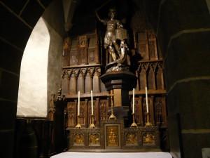 サン・ピエール教会 大天使ミカエル像