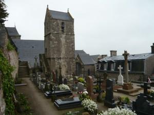 教会裏の墓地2