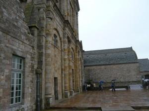 教会堂とテラス