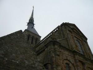 教会堂と尖塔