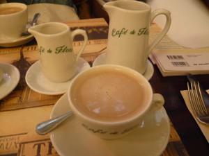 カフェ・クレーム@カフェ・ド・フロール