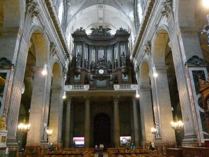 サン・シュルピス教会のパイプオルガン2