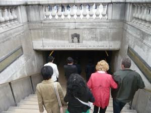 凱旋門への道1