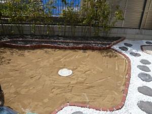 床土を敷くの巻