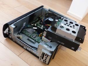 SX2850-H52E/LのDVDドライブとHDD外したの図1