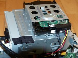 SX2850-H52E/LのDVDドライブとHDD外したの図2